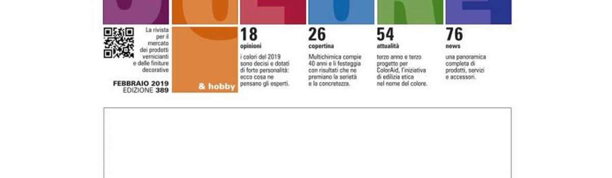 COLORE & HOBBY FEB 2019